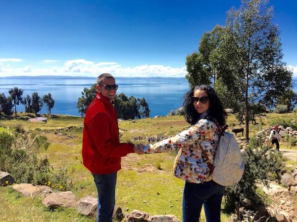 Vistas Isla Taquile