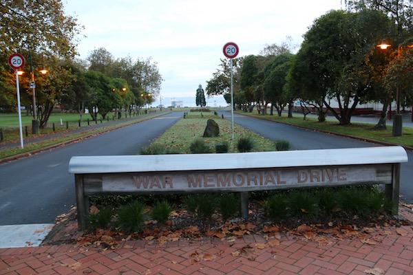 War Memorial Drive-Andorreando por el Mundo