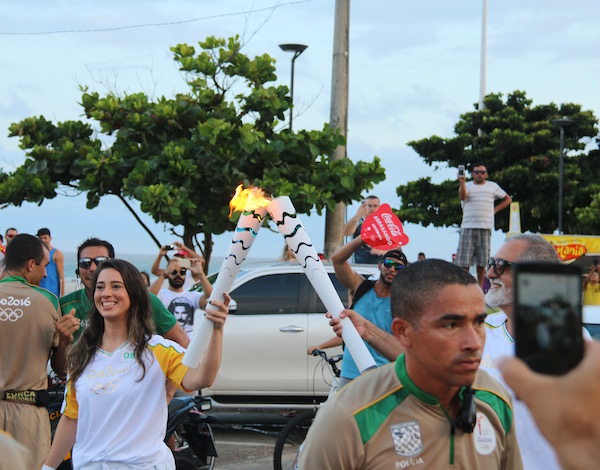 Antorcha Olimpica 2016