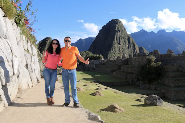 Grupo 3 puertas Machu Picchu