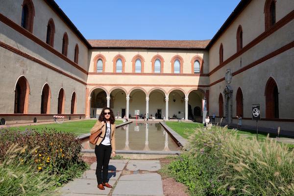 Jardines Castillo Sforzesco