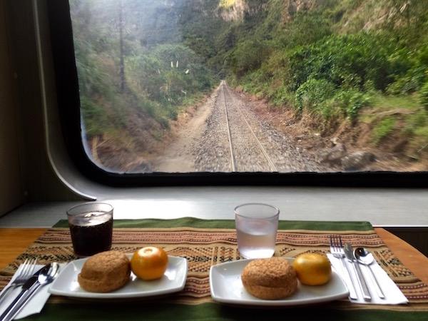 Merienda Tren Perurail