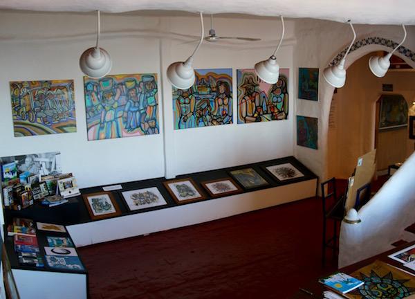 Sala Exposición Museo Casapueblo