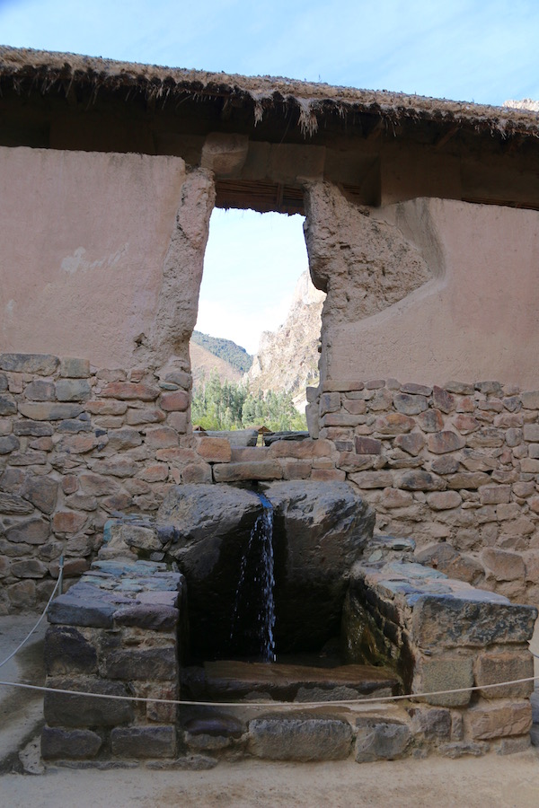 Templo del Agua Ollantaytambo