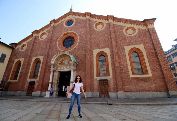 Iglesia Santa María del Grazie