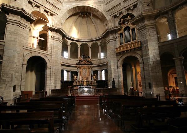 Interior Basílica San Lorenzo Maggiore