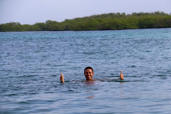 Baño Isla San Blas