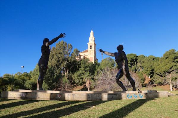 Esculturas Parque de los Pueblos de América