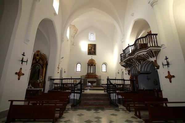Interior Iglesia Mayor de la Encarnación