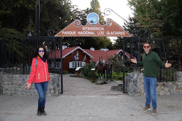 Entrada Intendencia Parque Nacional los Glaciares