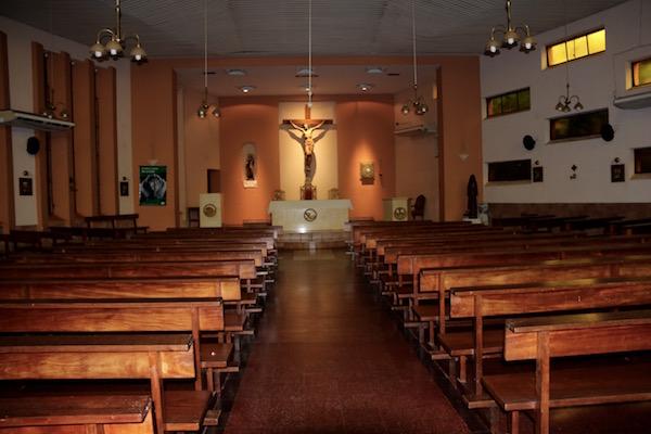 Interior Catedral Carmen