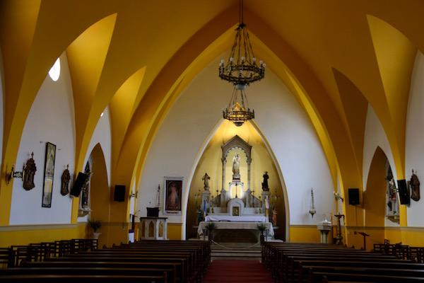 Interior Iglesia Nuestra Señora de la Merced