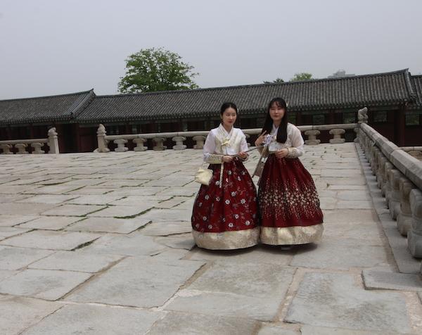 Trajes coreanos Hanbok