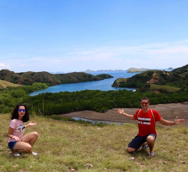 Vista Isla Rinca
