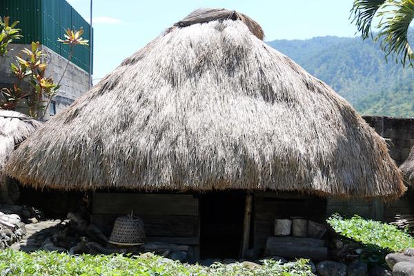 Casas aldea Museo Bontoc
