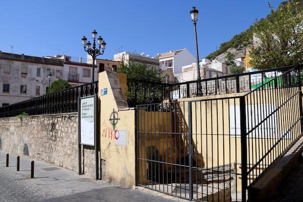 Entrada Refugios Antiaéreos Jaén