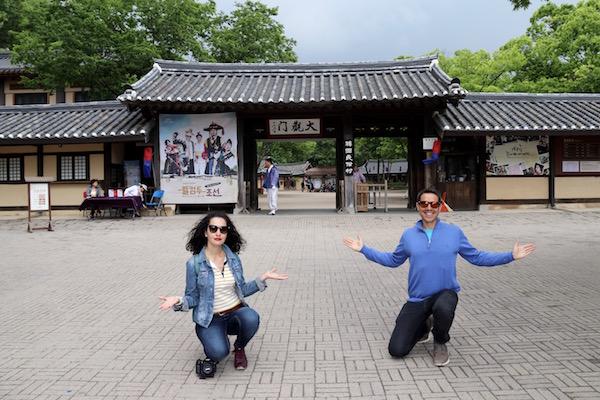 Entrada al pueblo Folklórico Joseon