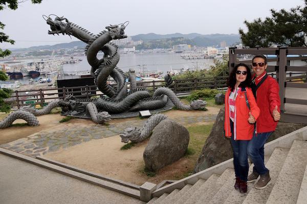 Escultura Drágon