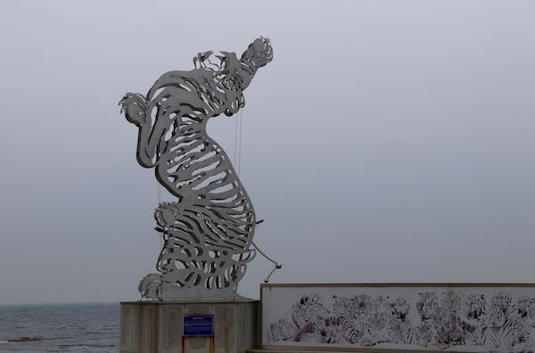 Escultura Tigre