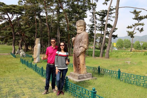 Esculturas Tumba rey Wonseong