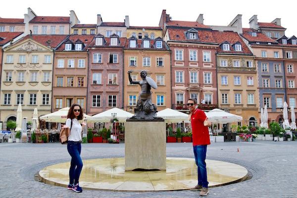 Estatua Sirena Varsovia