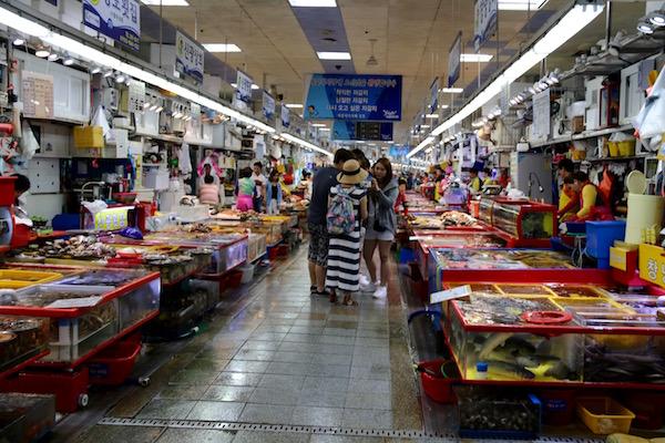 Interior Mercado Jagalchi