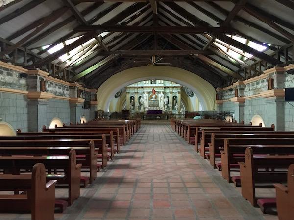 Interior iglesia San Guillermo