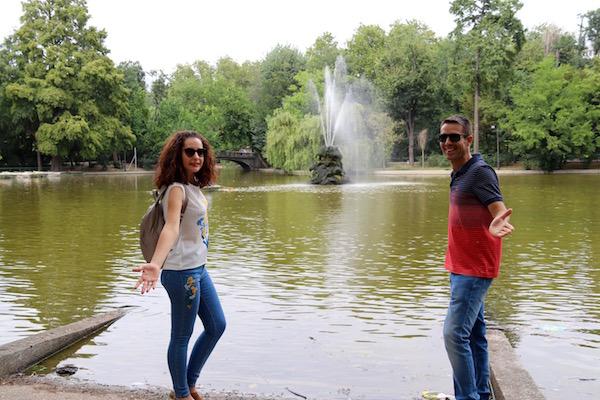 Lago Parque Cismigiu