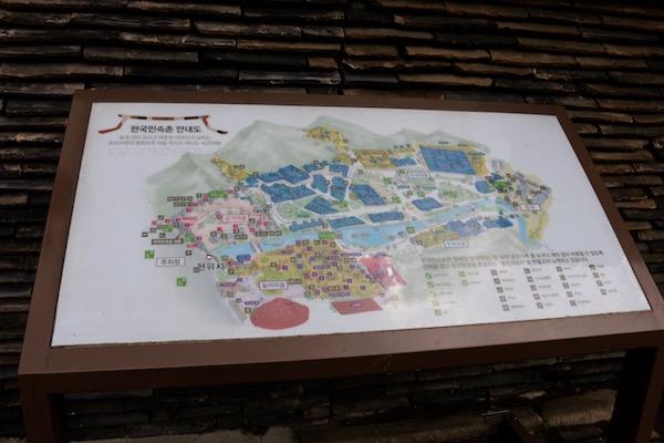 Mapa pueblo Folklórico Joseon