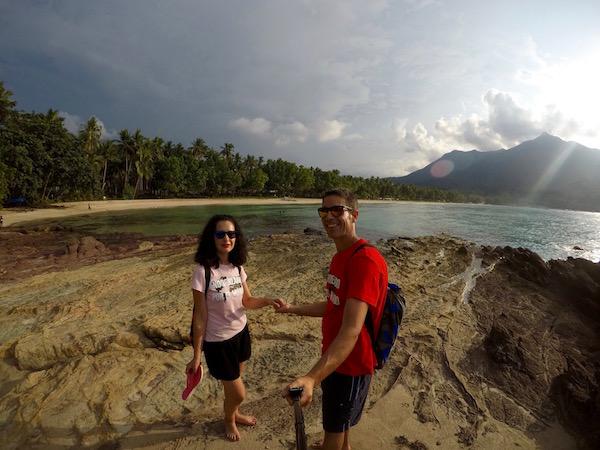 Paseo orilla playa Sabang