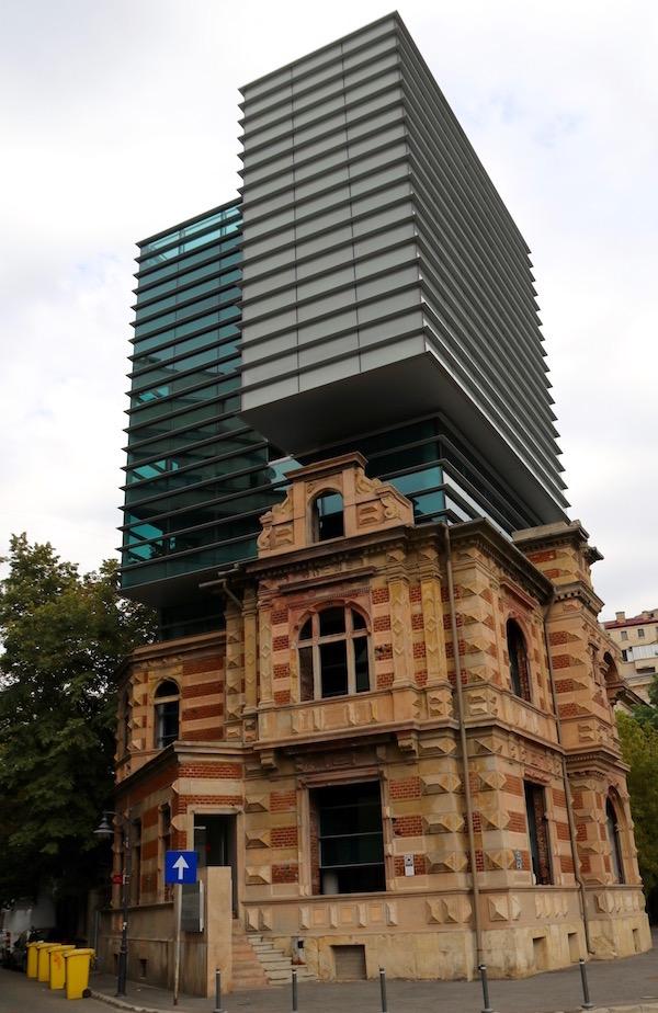 sede de los arquitectos sindicales de Rumania