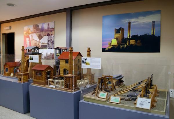 Exposición Centrointerpretación Paisaje Minero