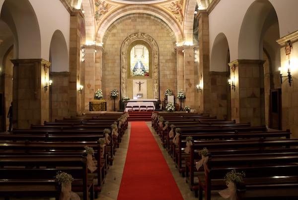 Interior Ermita Virgen Linarejos