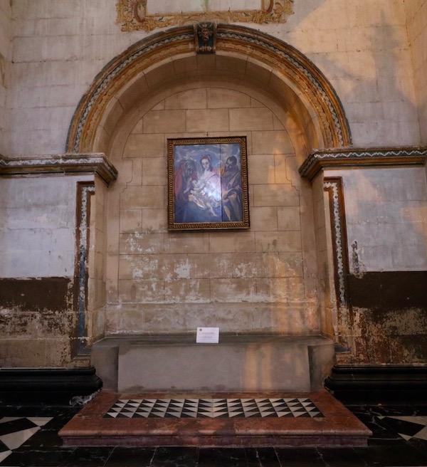 Interior Sacra capilla delSalvador