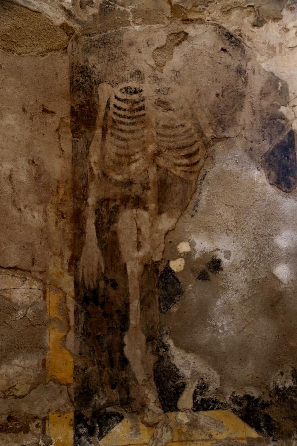 Pinturas cripta funeraria