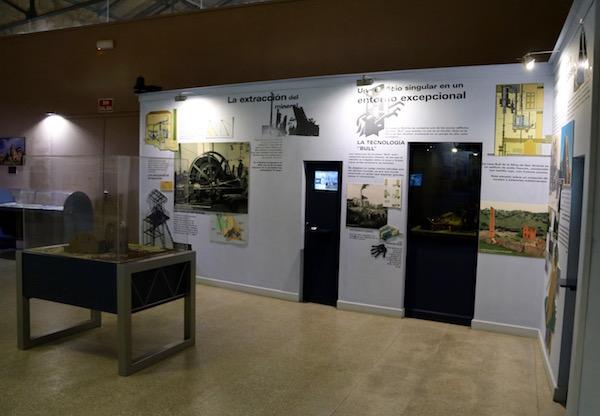 Sala CentroInterpretación Paisaje Minero
