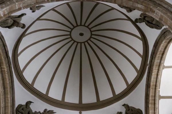 Techo iglesia San Isidro