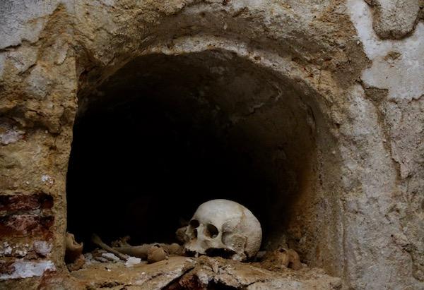 cripta funeraria.