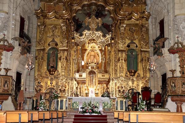 Altar iglesia de la Consolación