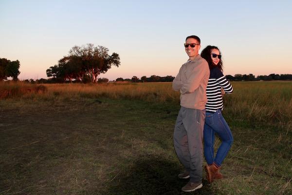 Atardecer Delta de Okavango