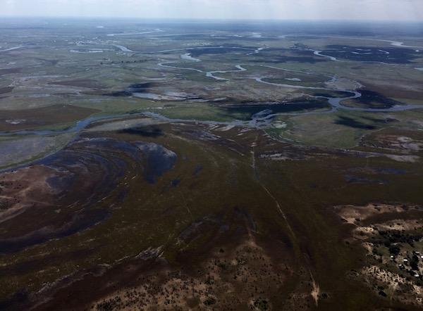 Delta de Okavango.