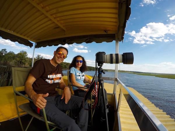 Embarcación Río Chobe