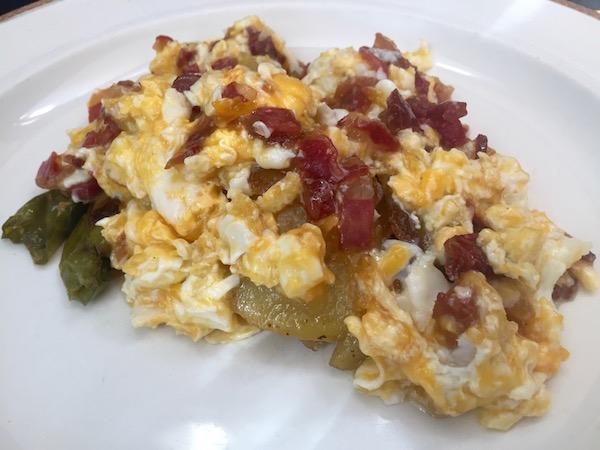Huevo Jamón