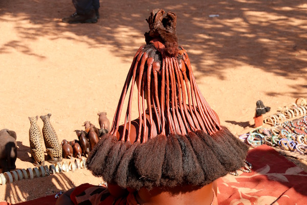 Melena mujer Himba