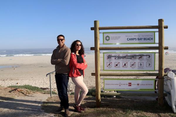 Playa Camps Bay.