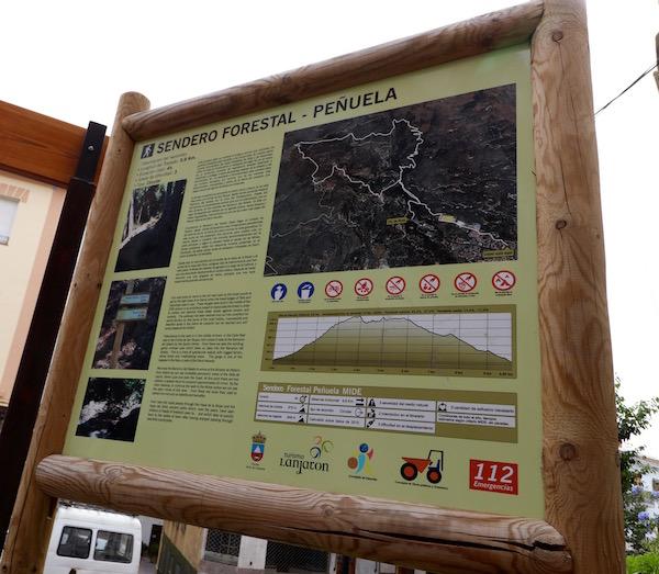Sendero Forestal Peñuela
