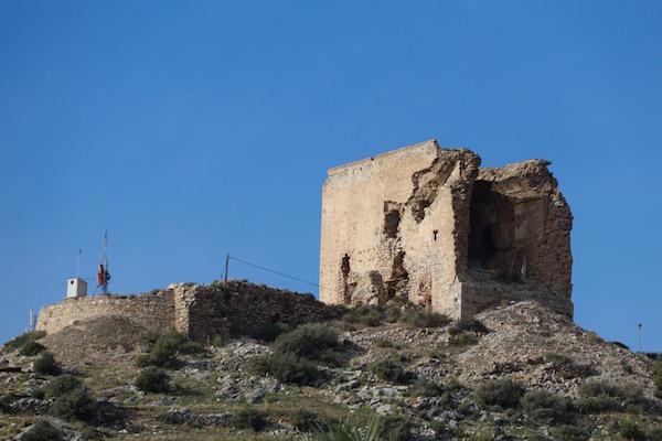 Restos castillo de Castell de Ferro