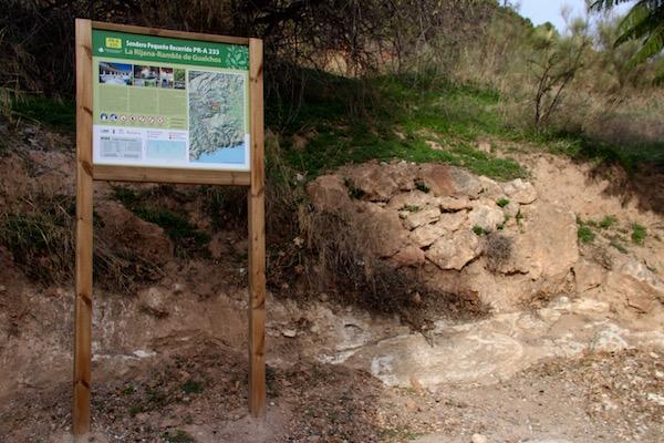 Sendero La Rijana Rambla de Gualchos