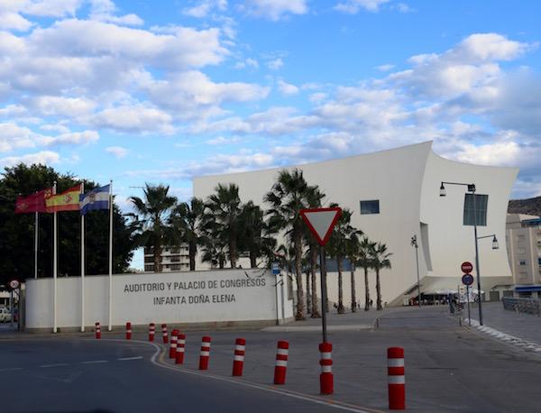 auditorio y palacio de Congresos Infanta D. Elena