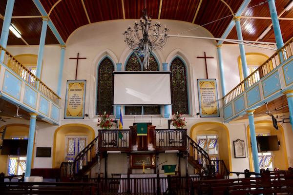 Altar iglesia metodista